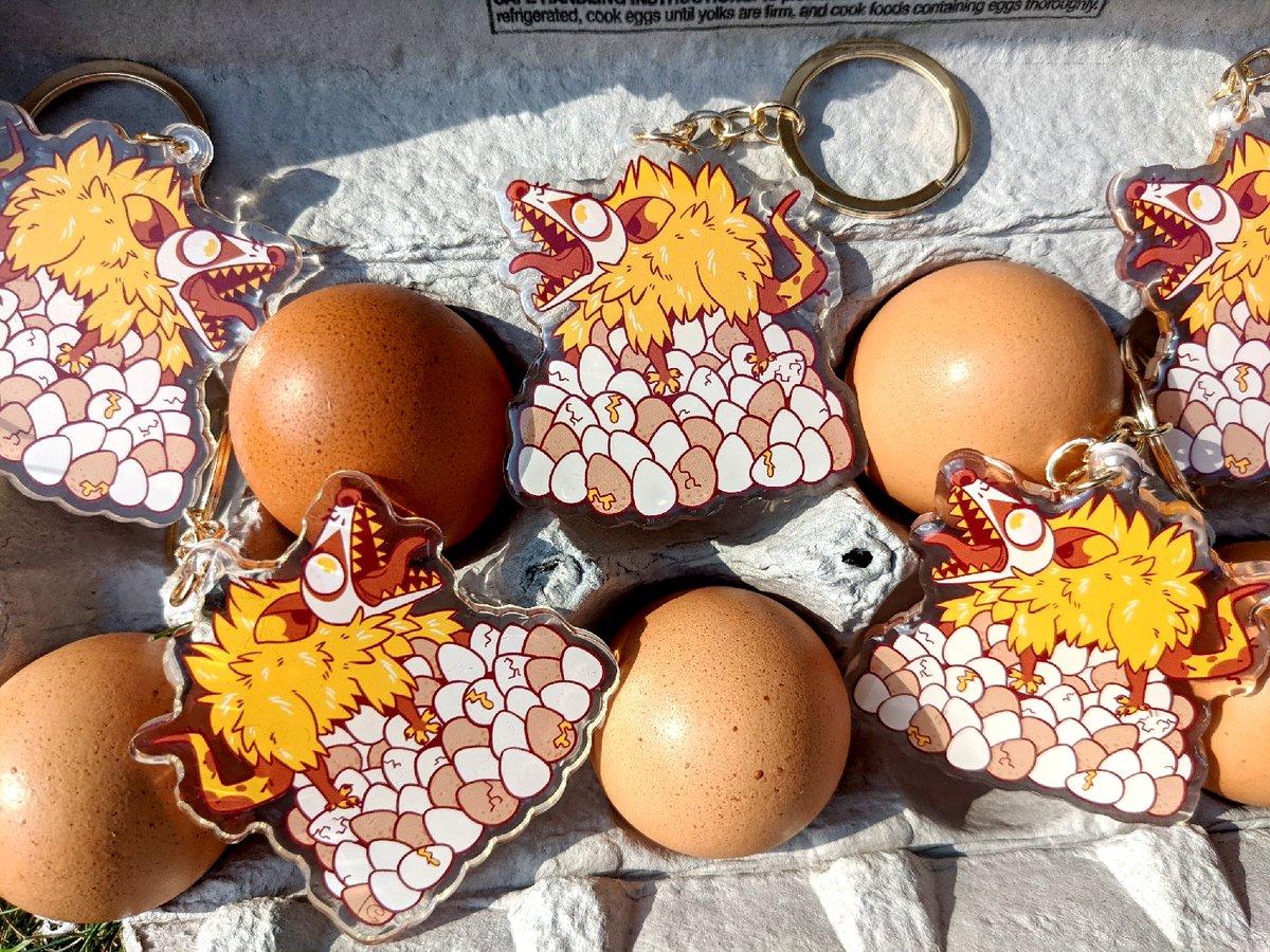 Image of Egg Hoard Keychain