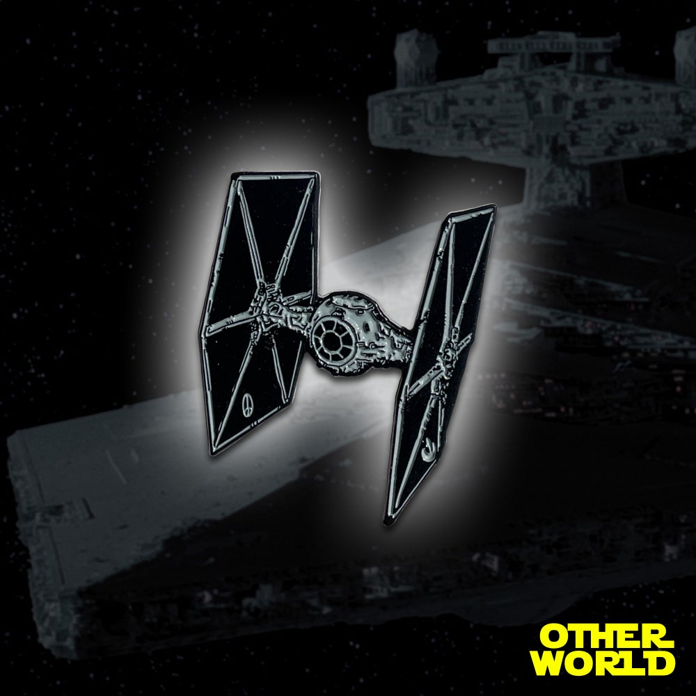 Image of Rogue Tie Fighter pin