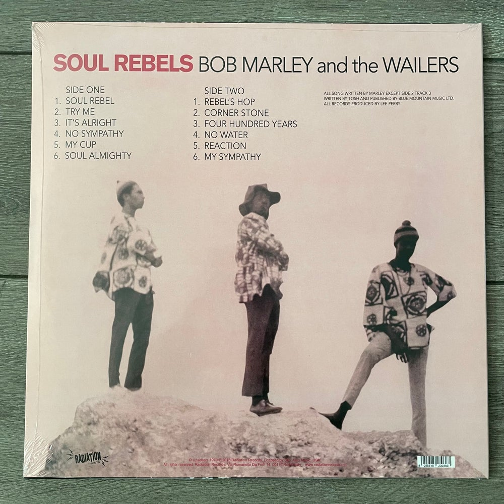 Image of Bob Marley & The Wailers - Soul Rebels Vinyl LP