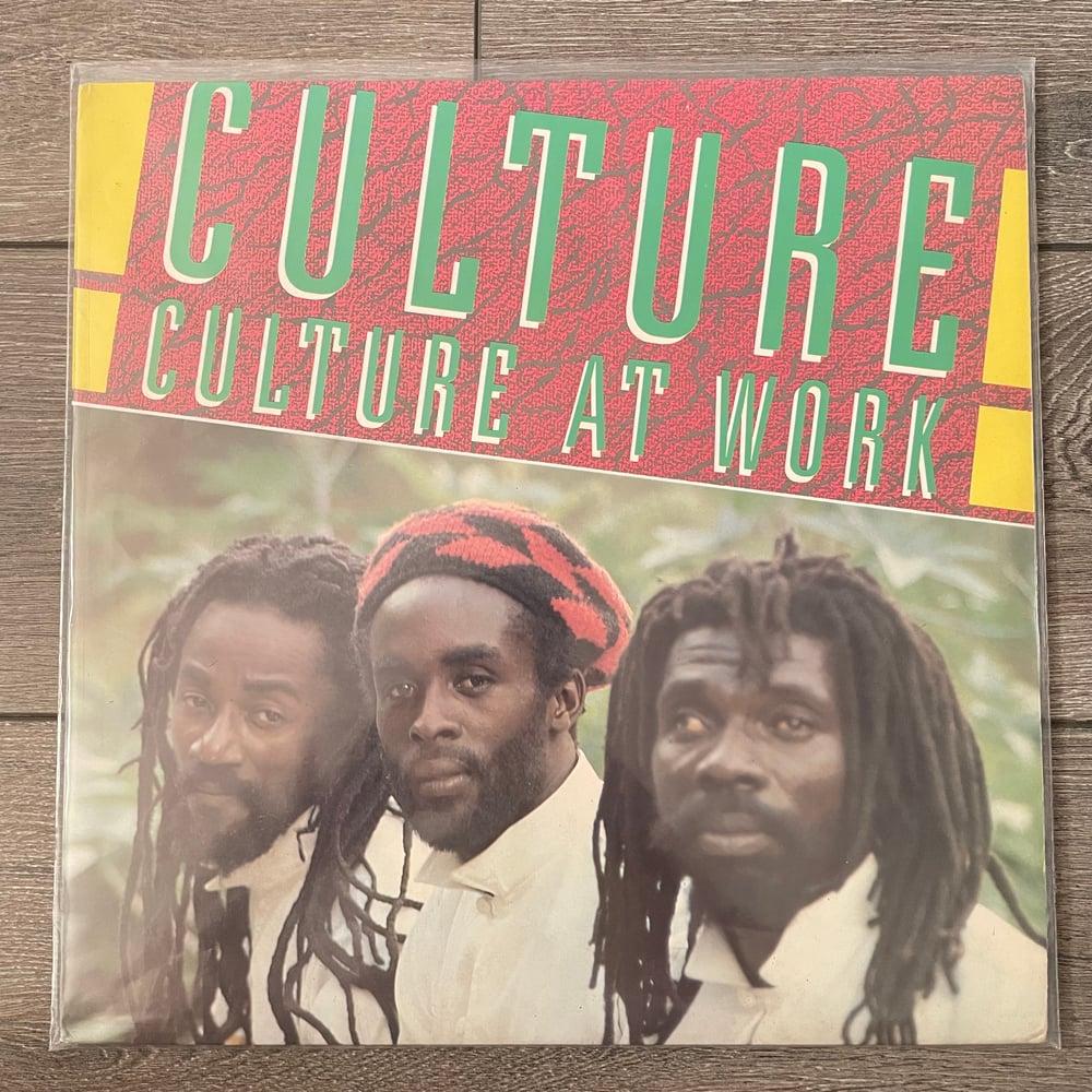 Image of Culture - Culture At Work Vinyl LP