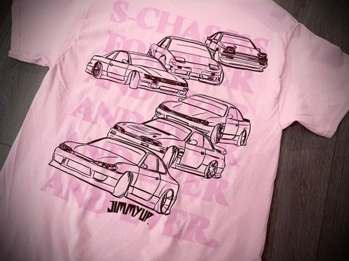 Image of S-Chassis Forever and Ever Pink Tee