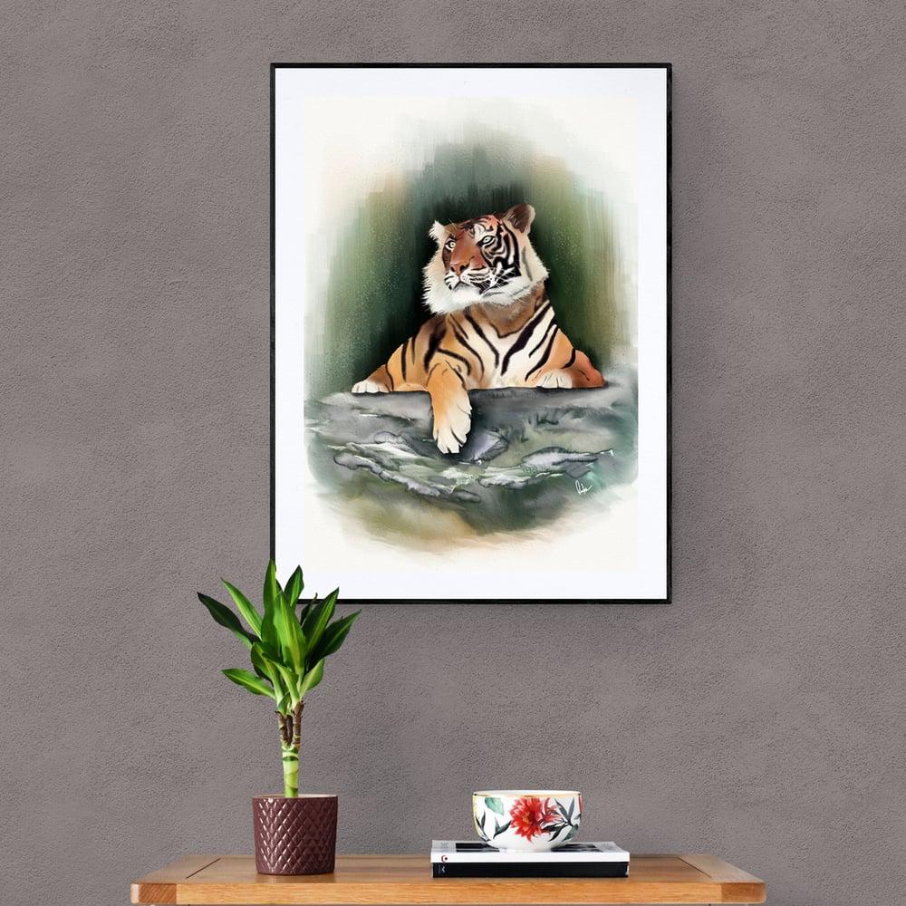 Fearless Tiger - Artwork - Prints
