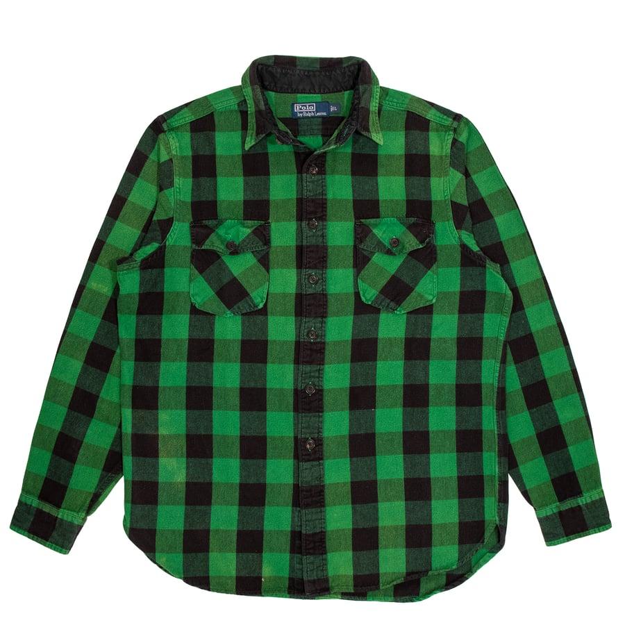 Image of Vintage Polo Ralph Lauren Tartan Shirt (L)