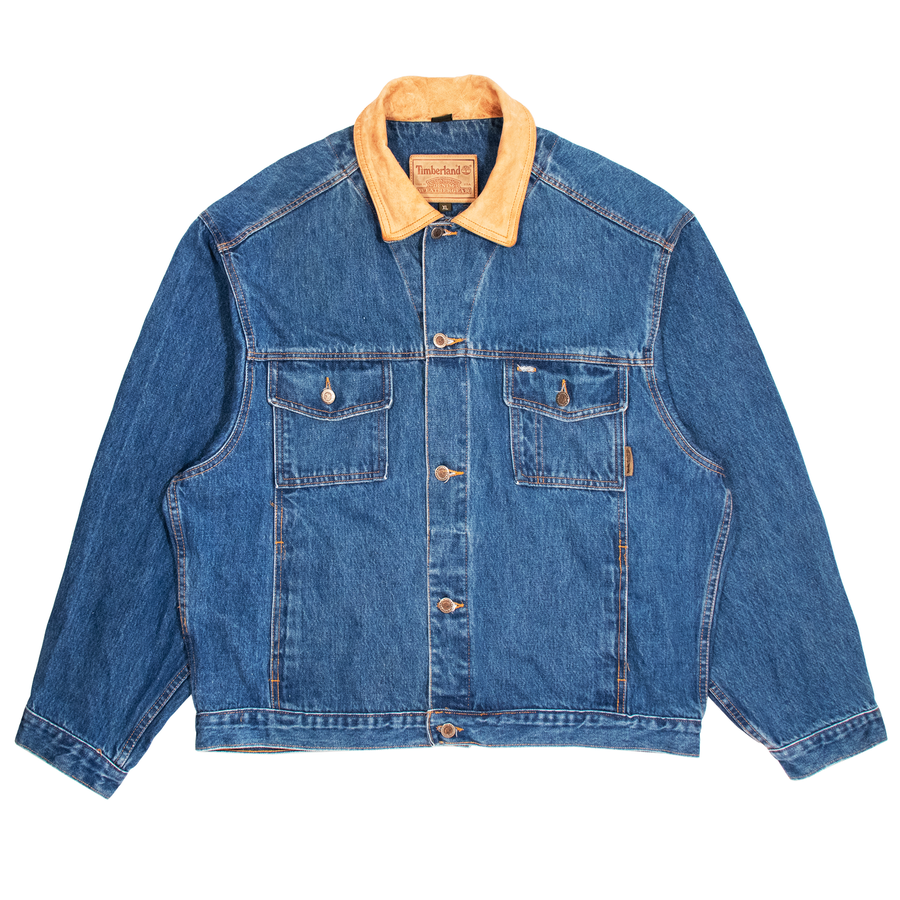 Image of Vintage Timberland Denim Jacket (XL)