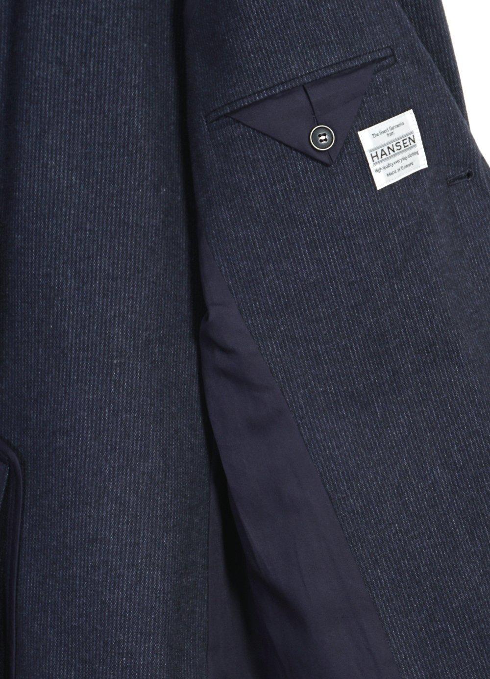 Hansen Garments CHRIS | Classic Two Button Classic Blazer | brushed blue