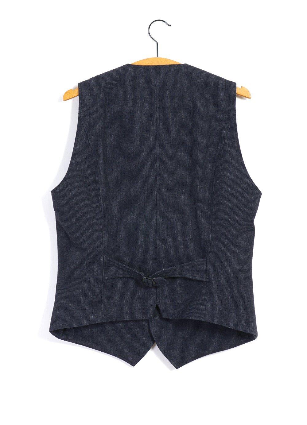 Hansen Garments DANIEL   Classic Waistcoat   brushed blue