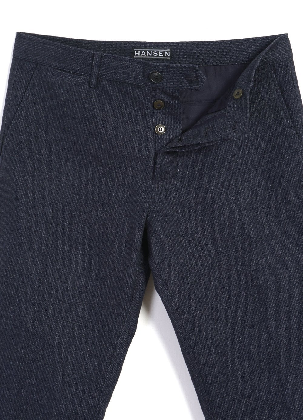 Hansen Garments FRED | Regular Fit Trousers | brushed blue