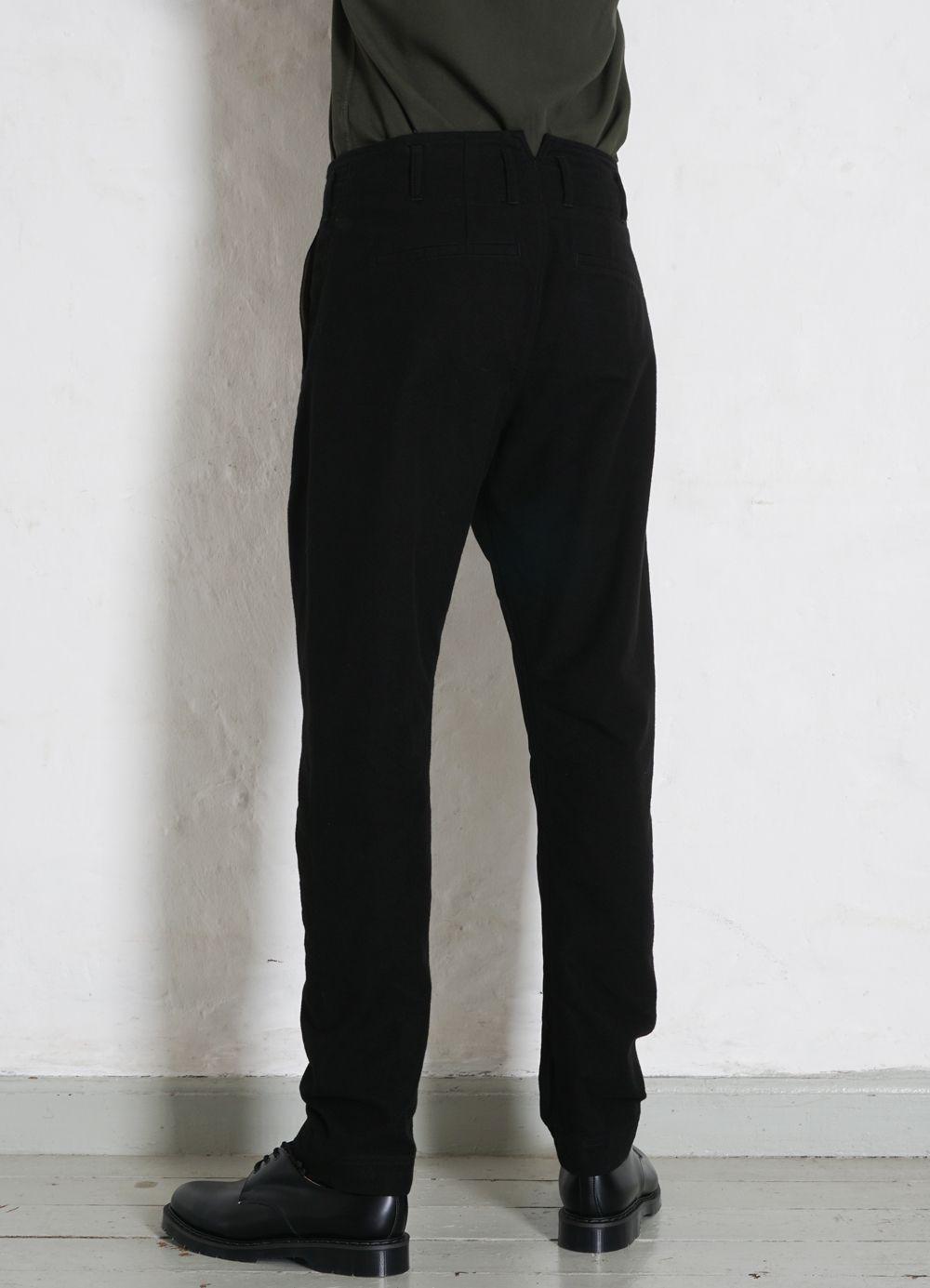 Hansen Garments SVENNING   Slim Fit Trousers   black