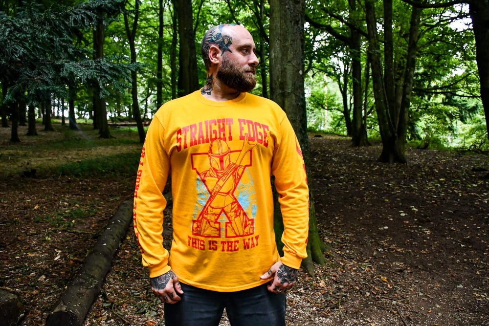 This Is The Way Gold Long Sleeve T-Shirt