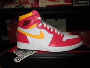 "Image of Air Jordan I (1) Retro High OG ""Light Red Fusion"""