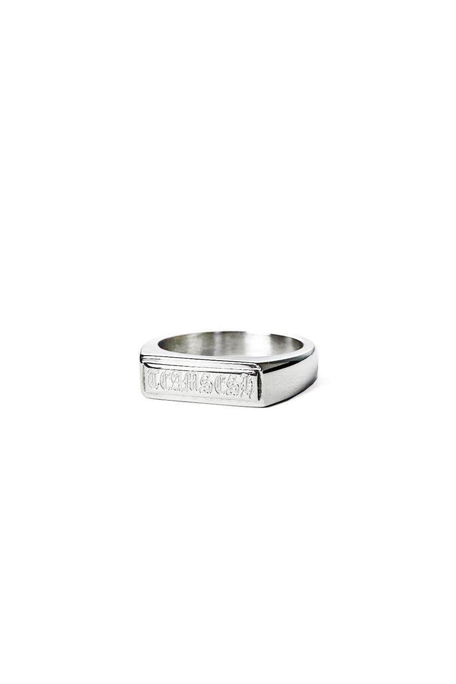 "Image of ""BarLogo"" Ring"