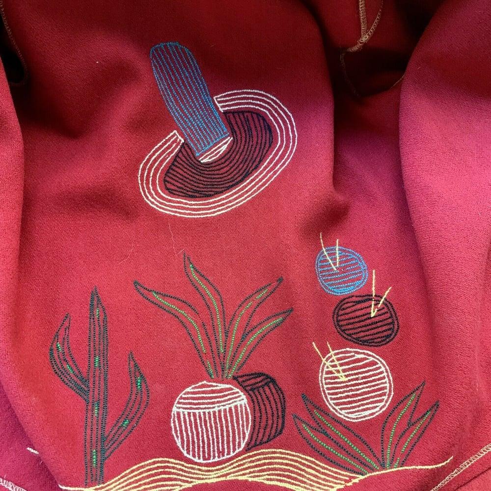 Felt Wool Jacket Medium