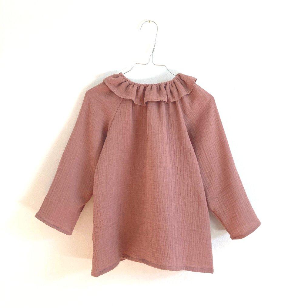 Mavie Blouse-clay pink