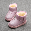 Image 1 of Glitter Fur Lined Boots