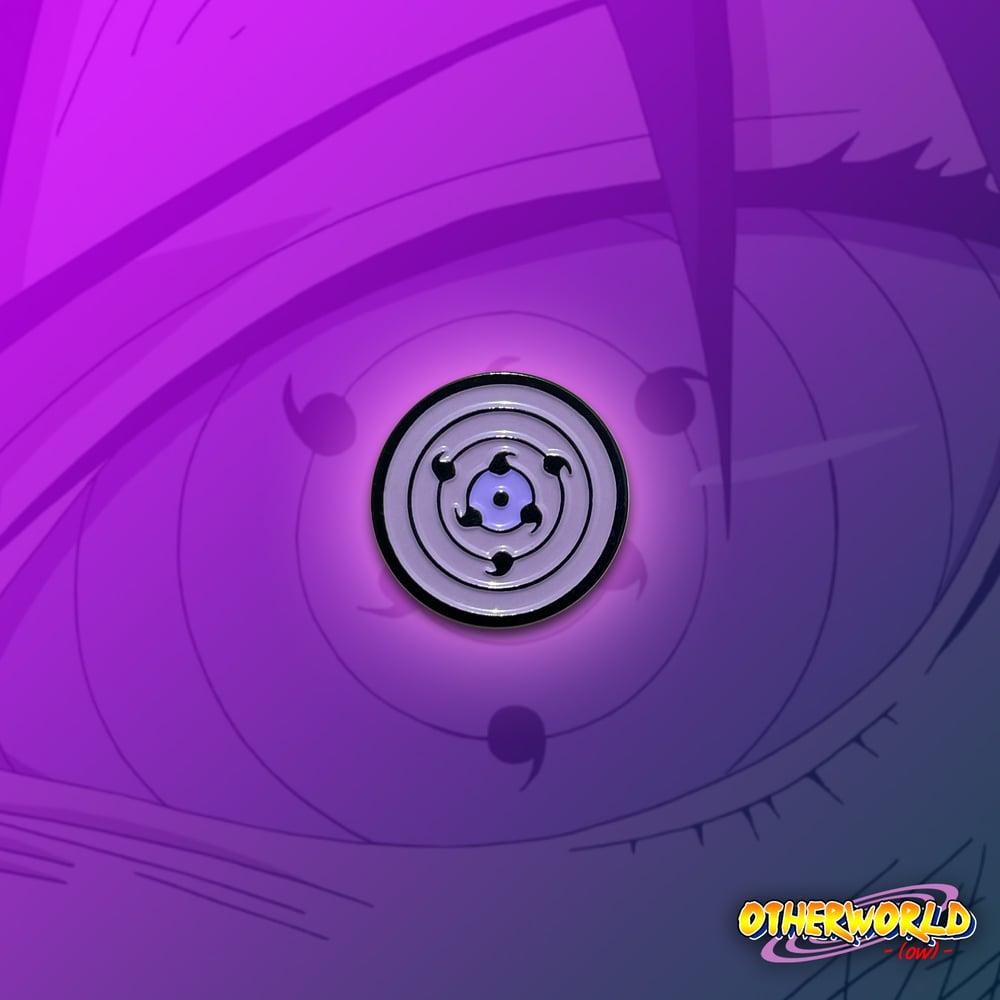 Image of Rinnegan Eye pin