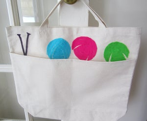 Image of Knitter's Tote Bag