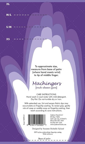 Machingers Quilting Gloves - Choose Size