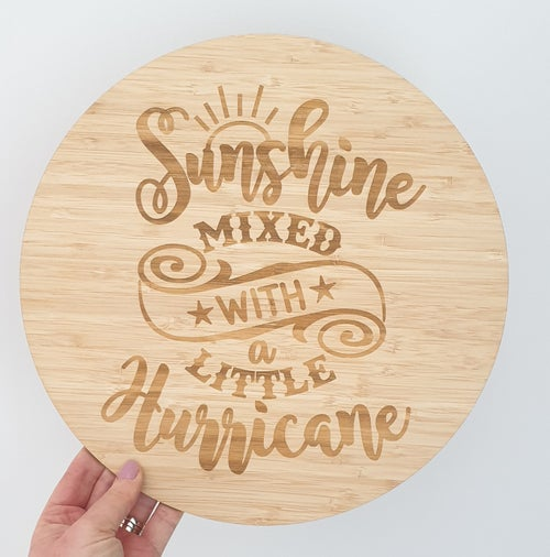 Image of Etched Bamboo Sign's