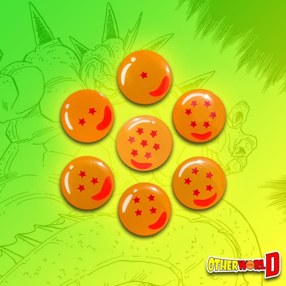 Image of Dragon BallZ pin set