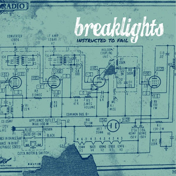 Image of Breaklights - Instructed To Fail Cd Ep