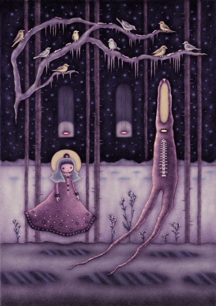 """""""Winter Forest"""" art print"""