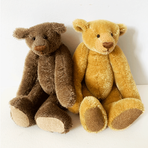 Image of Christmas: Traditional Jointed English Teddy Bear - Online - 12th December (9.30am - 12.30pm)