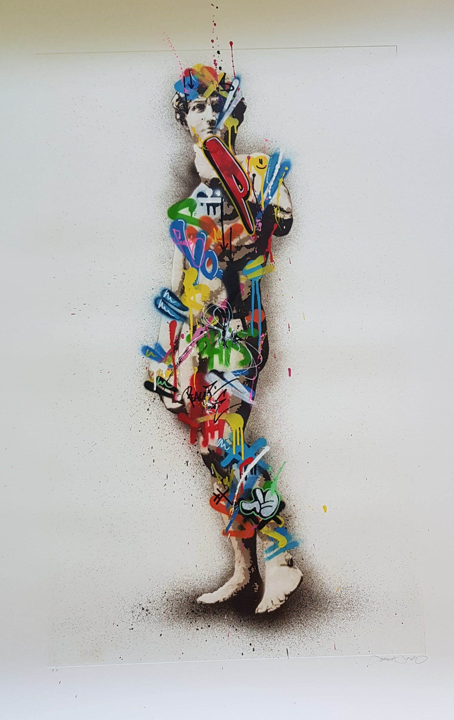 """Image of MARTIN WHATSON """"DAVID"""" - HAND FINISHED ETCHING"""