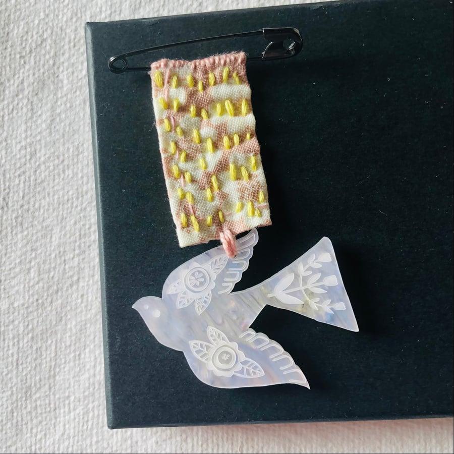 Image of Folk Bird Medal iiii