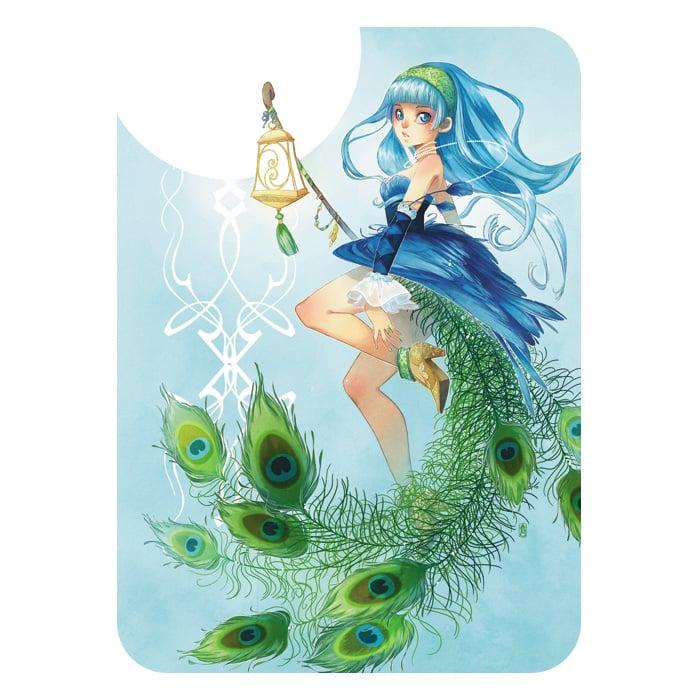 Card (Peacock)