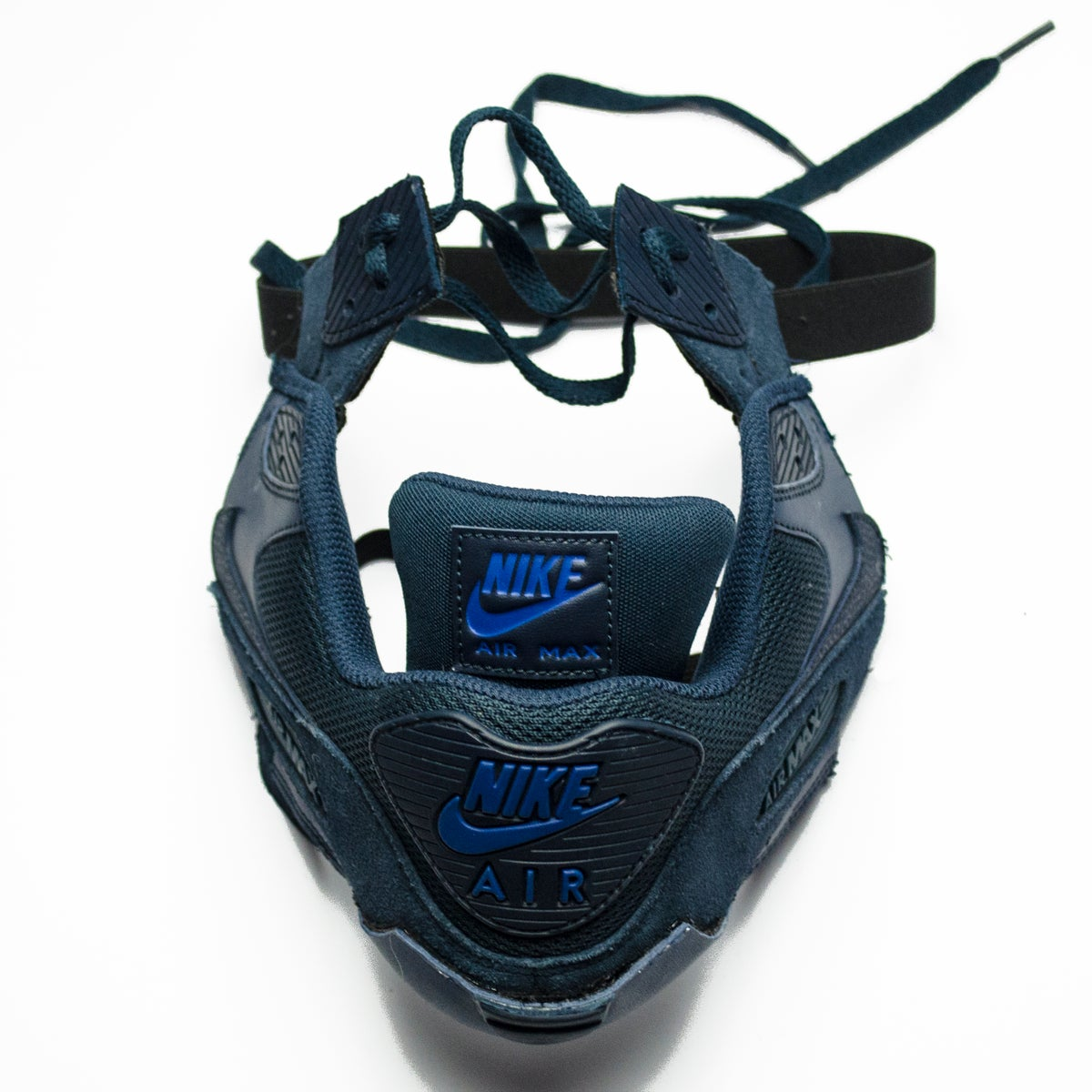 Image of SNEAKER MASK / AIR MASK 90 / NAVY BLUE