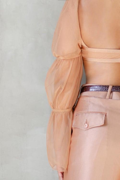 Image of Modern Alayah Cinnamon Blush Bralette