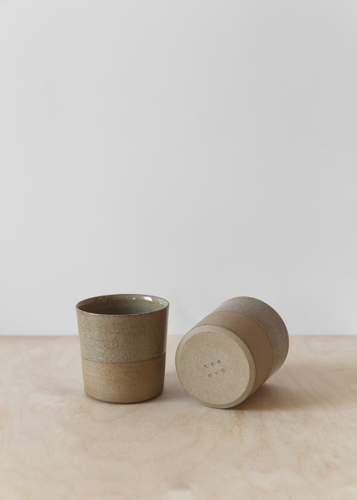 Image of Taupe coffee cup