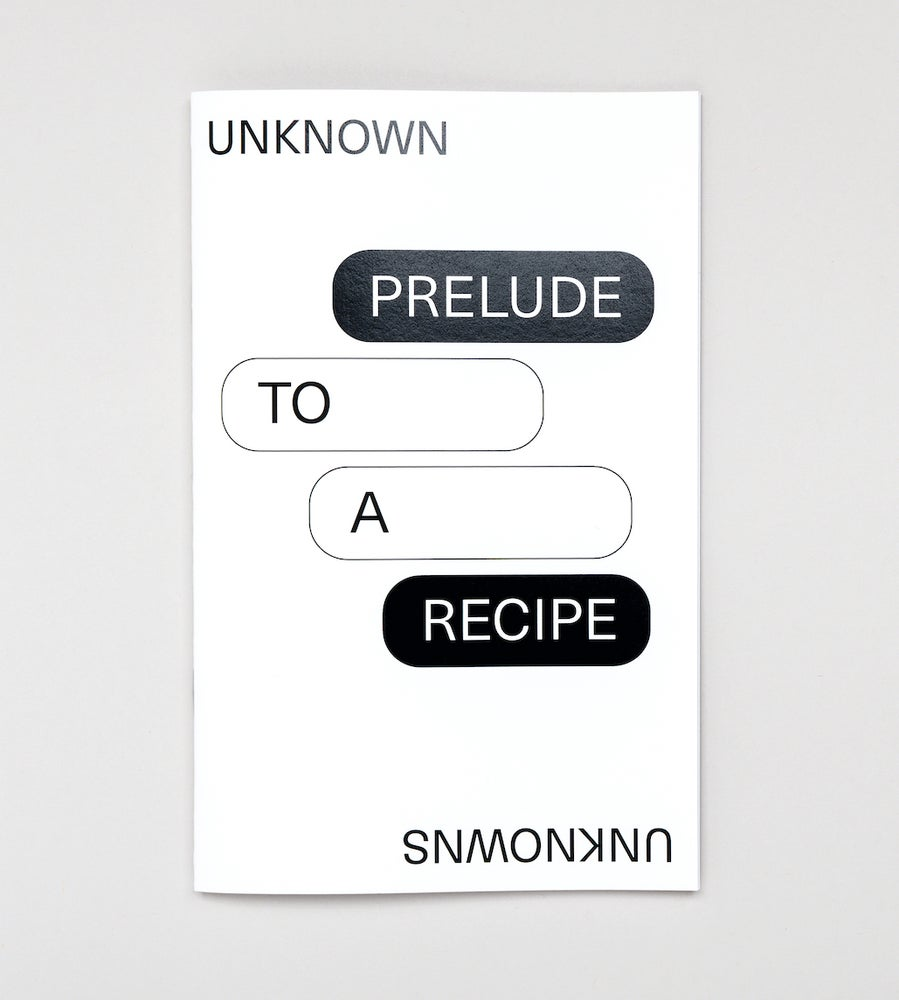 Image of Prelude to a Recipe