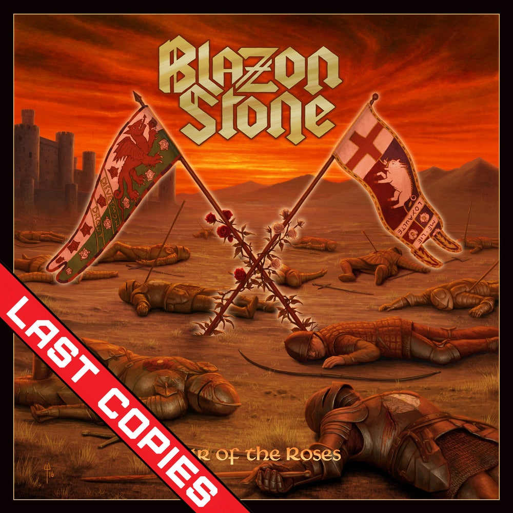 BLAZON STONE - War of the Roses CD