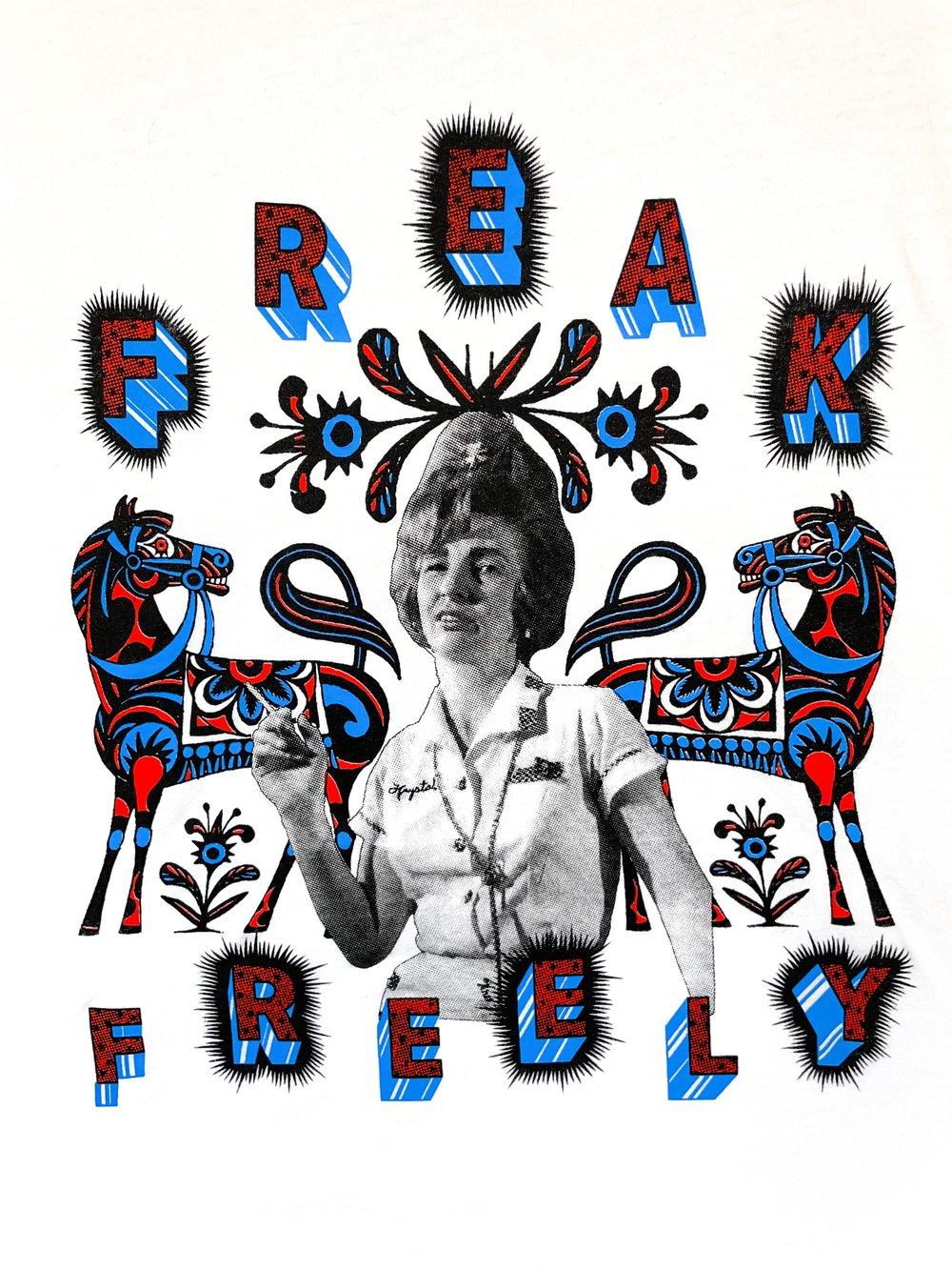 Image of FREAK FREELY ringers ///////