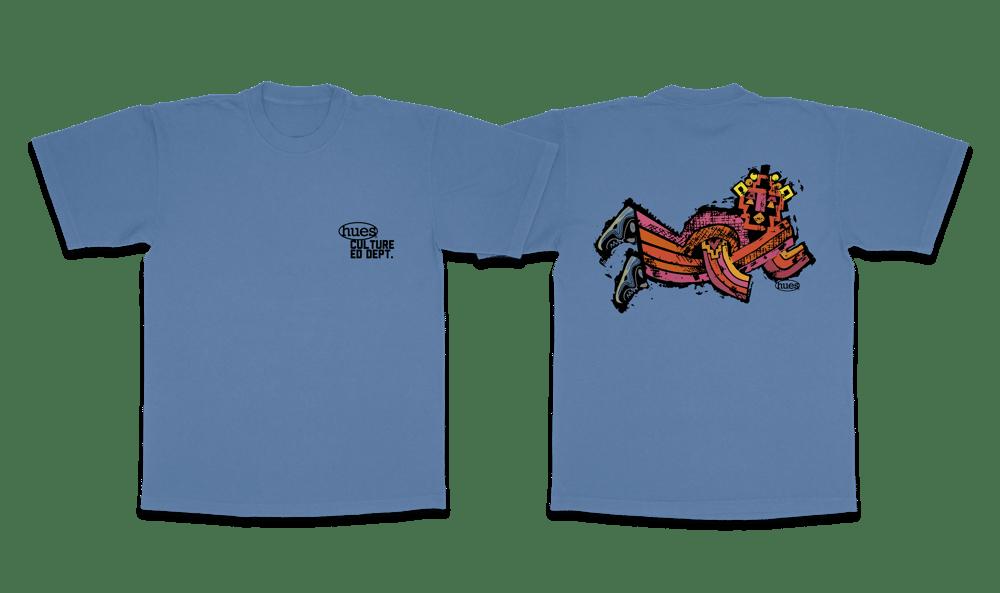 Image of nyame folk t shirt sample