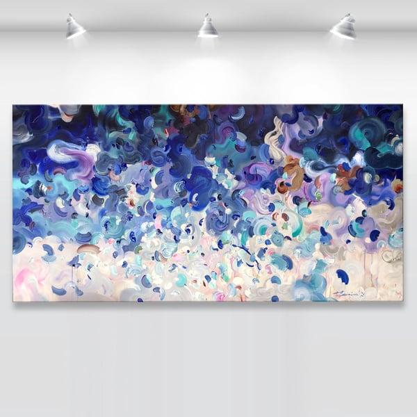 Image of 'Oceanum alte' - 183x90cm