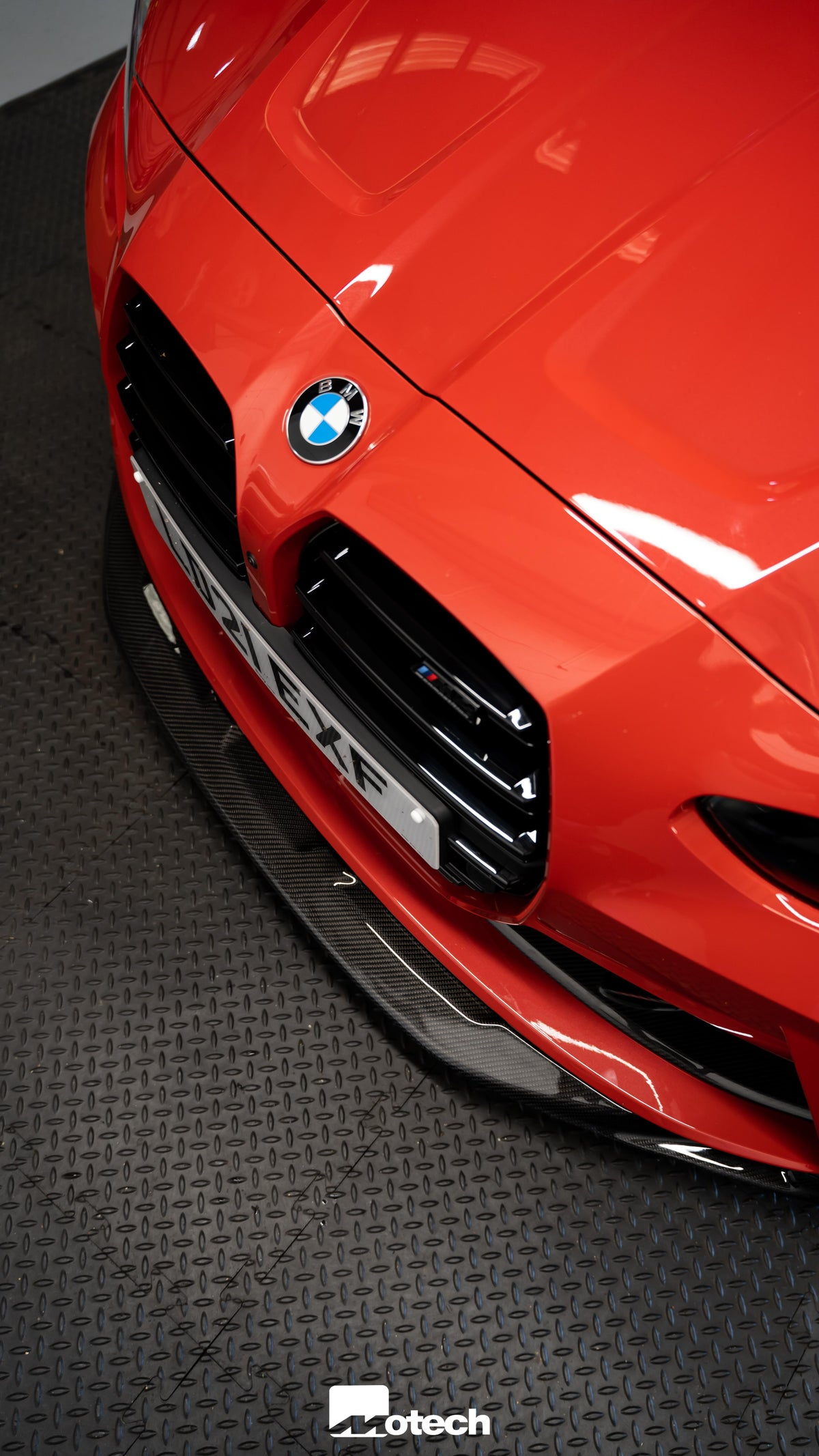 Image of BMW G80/82/83 M3/M4 GTS Style Carbon Front Splitter