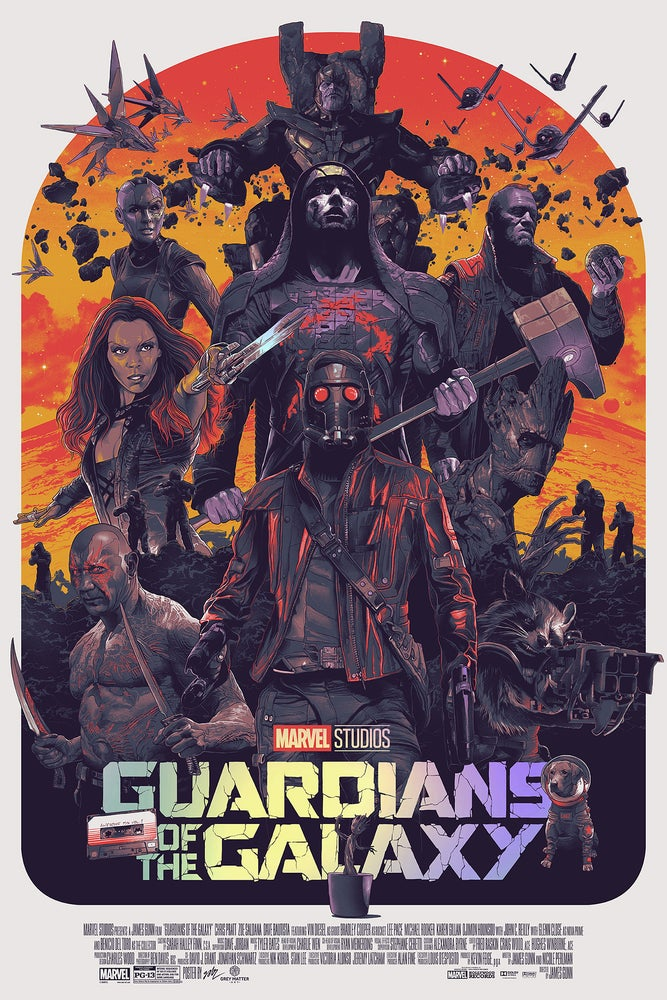 Image of Guardians of the Galaxy FOIL