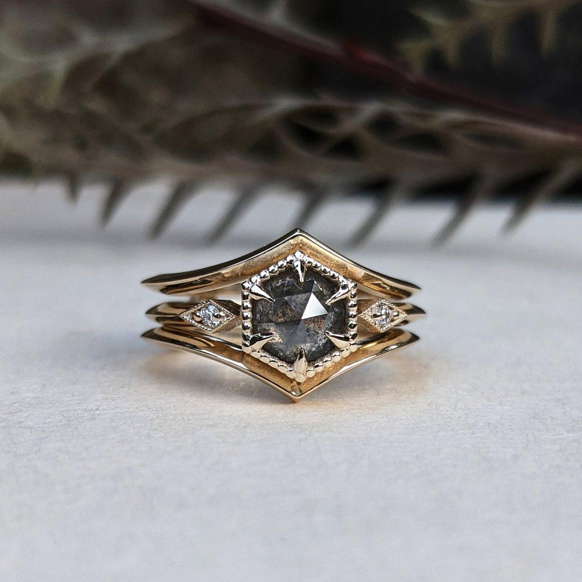 Image of Audrey III Ring Set