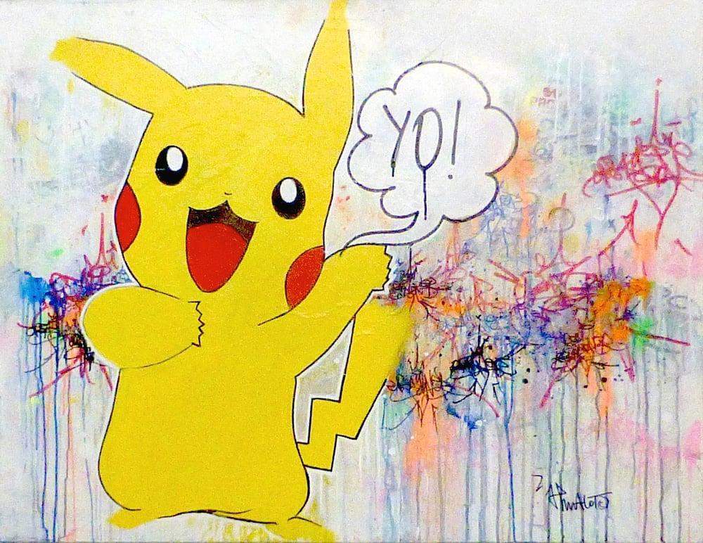 Image of YO! PIKACHU JP MALOT 89X116 cm