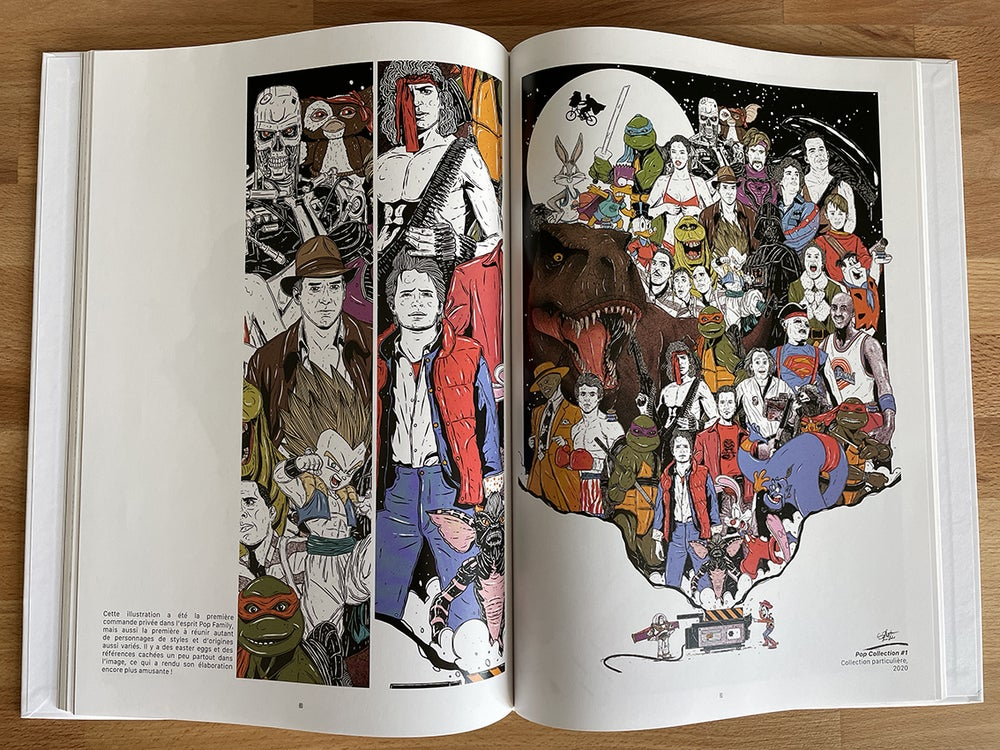 Pop Family - Une collection d'Illustrations