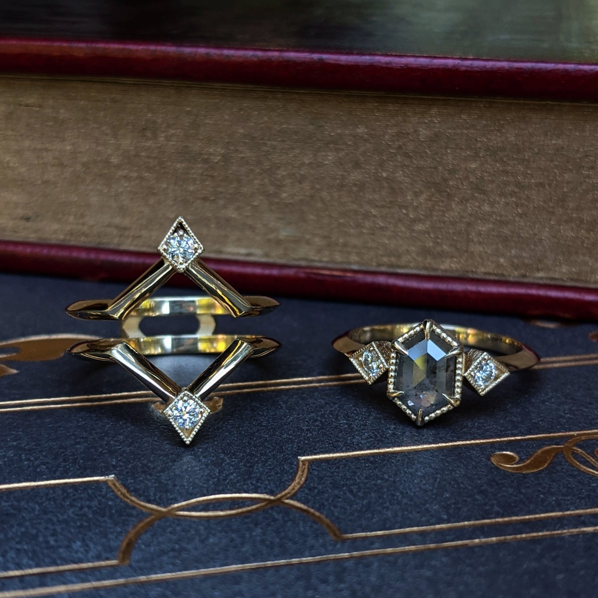 Image of Agnes Ring Set