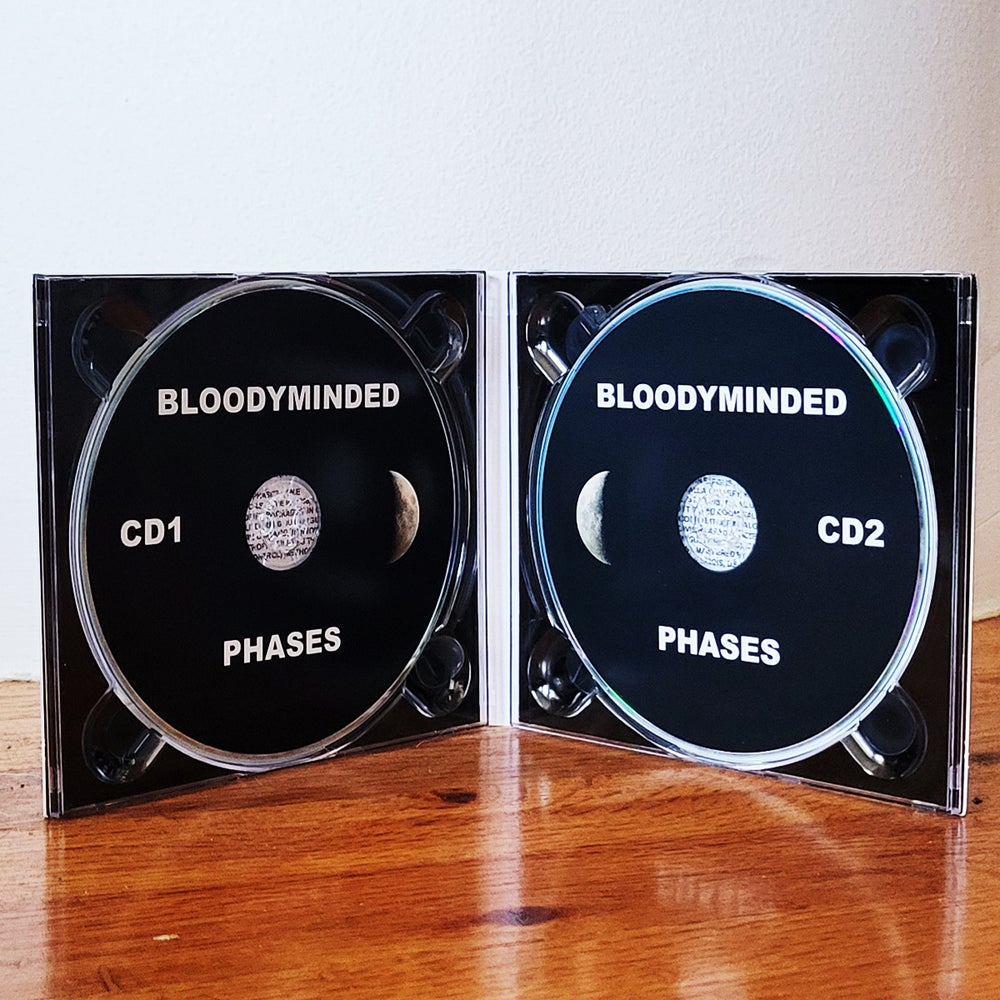 """BLOODYMINDED """"PHASES"""" 2CD set"""