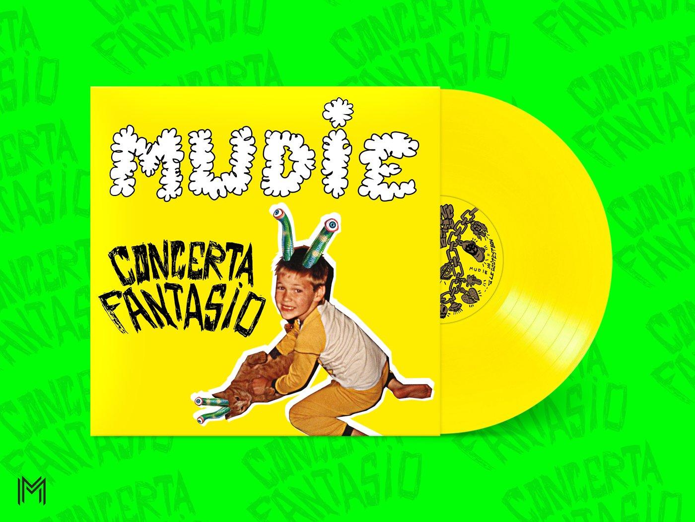 Image de Concerta Fantasio LP ( Limité à 300 - Jaune )