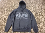 Image of Museum of Death New Orleans Bed of Skulls pullover hoodie
