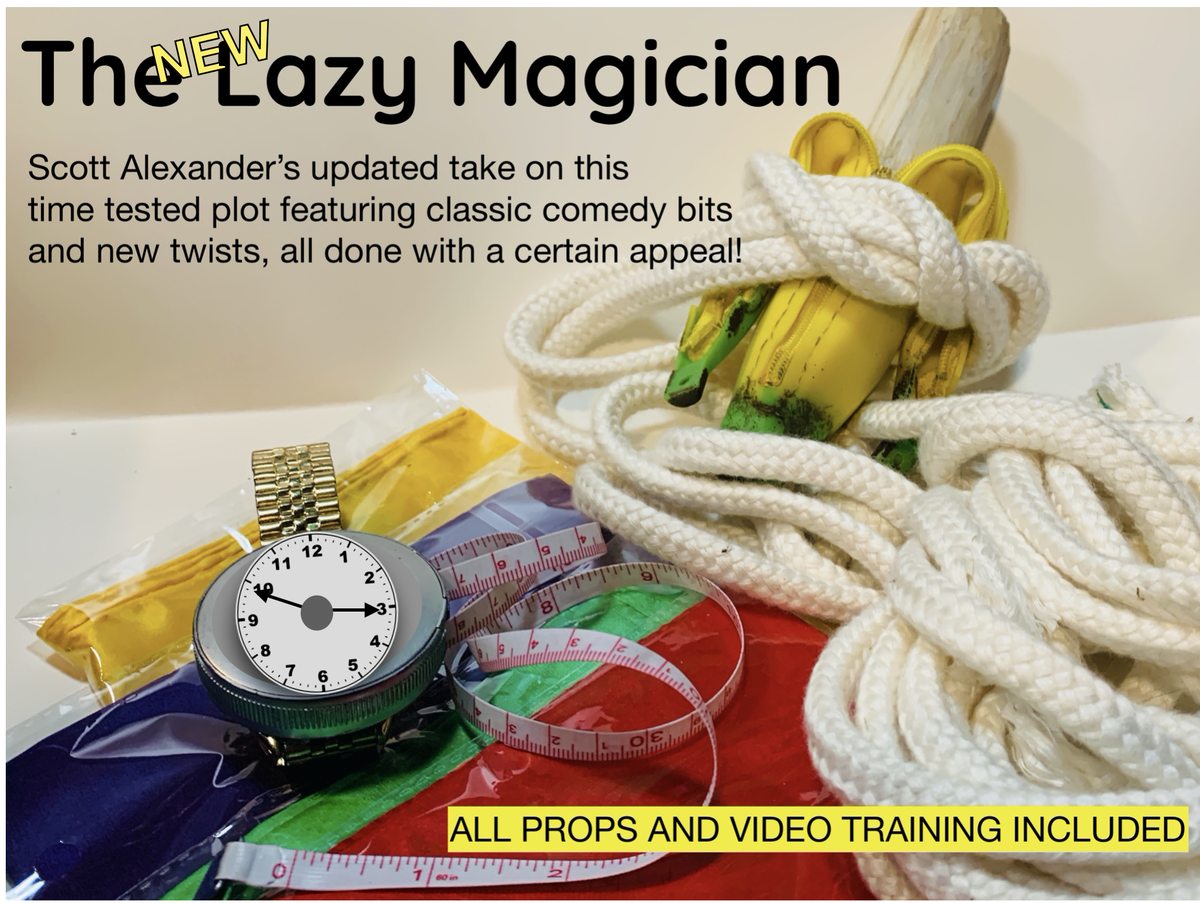 Image of The  (New) Lazy Magician