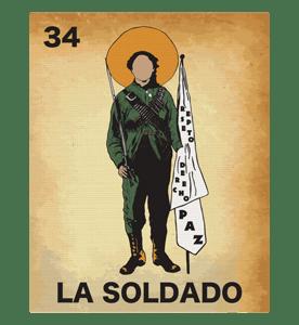 Image of La Soldado