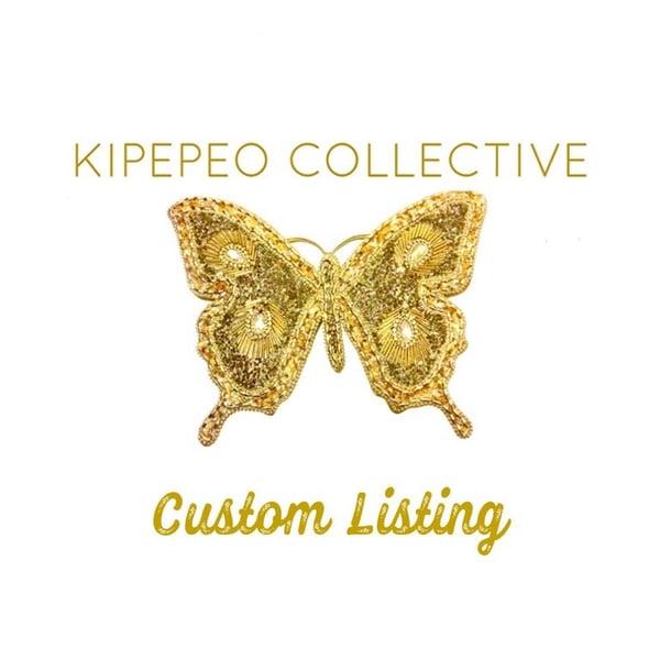 Image of Custom order for Stephanie