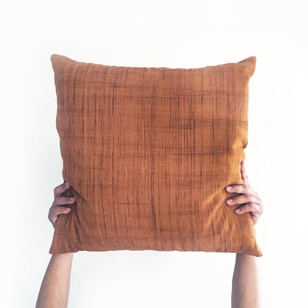 Image of Palo Naturally Dyed Cotton Cushion Cover